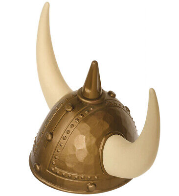 SPIKED VIKING HELMET Hat Accessory for Ancient Scandinavian Swedish Danish Fancy