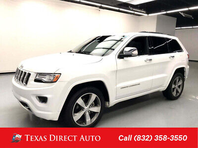2014 Jeep Grand Cherokee Overland Texas Direct Auto 2014 Overland Used 3.6L V6 24V Automatic RWD SUV Moonroof