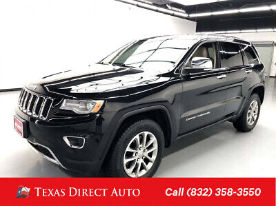 2016 Jeep Grand Cherokee Limited Texas Direct Auto 2016 Limited Used 5.7L V8 16V Automatic 4WD SUV
