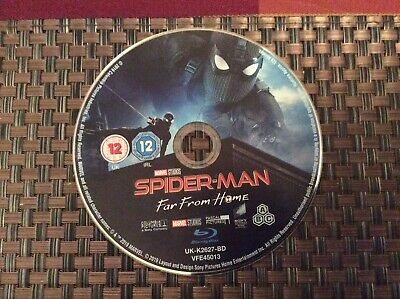 Spider-Man Far From Home Blu Ray Disc Only New Never Played As Pictured
