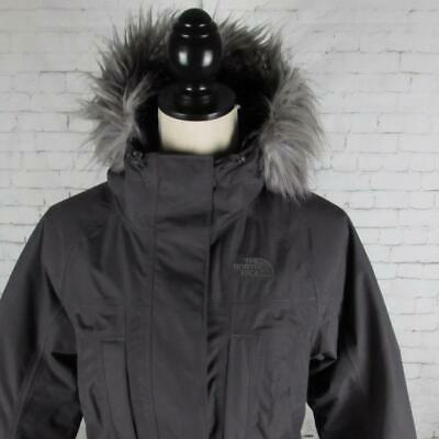 Ladies The North Face Insulated Parka Jacket Coat Hooded Waterproof Medium