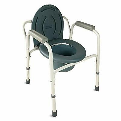 Silla con WC, Reposabrazos, Altura regulable, Con tapa, Conteras
