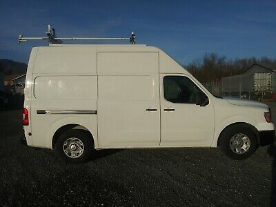 2012 Nissan NV350 High Top Van with Metal Shelving