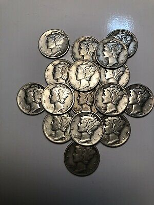 Mercury dime, 90% silver. Ebay code Perks4Me  to save $3 Or TAKETWO to save $2