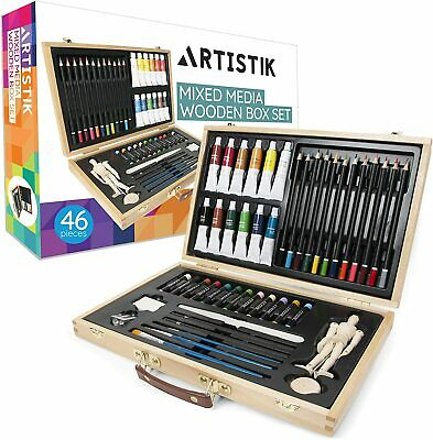 Acrylic Paint Set Drawing Painting Art Kit For Kids AcrTeens Adults Professional