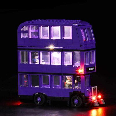 LED Light Up Kit For LEGO 75957 The Knight Bus Lighting Set Building Kit Bus UK