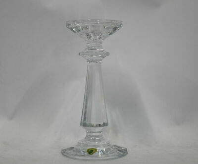 "Waterford Crystal Illuminology 8"" Faceted Footed Candlestick"