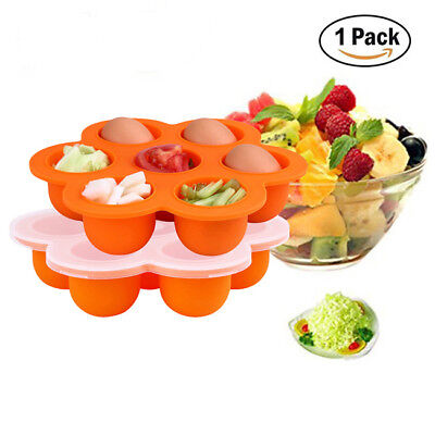 Silicone Silicone Weaning Baby Kids Food Freezer Tray Pots Storage Container GD