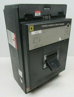 Square D LCL36600 600A 600V 3 Pole Thermal-Magnetic Circuit Breaker