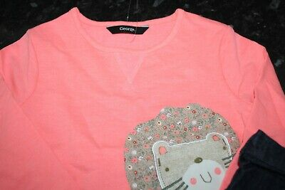 Girls Outfit  Next Skirt Long Sleeve Top (New) Age 2-3 Years