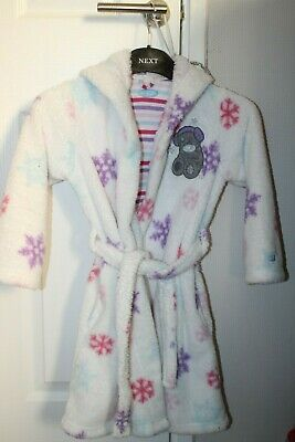 Girls  Marks And Spencer Tatty Teddy Me To You Dressing Gown Robe 5-6 Years