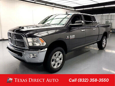 2017 Ram 2500 Big Horn Texas Direct Auto 2017 Big Horn Used Turbo 6.7L I6 24V Automatic 4WD Pickup