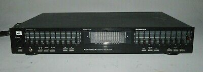 ADC Sound Shaper SS-310 Vintage 10 Band Stereo Frequency Equalizer