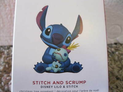 2019 Hallmark STITCH AND SCRUMP from Walt Disney LILO AND STITCH - SOLD OUT
