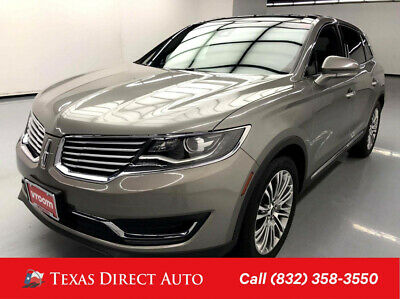 2016 Lincoln MKX Reserve Texas Direct Auto 2016 Reserve Used 3.7L V6 24V Automatic AWD SUV