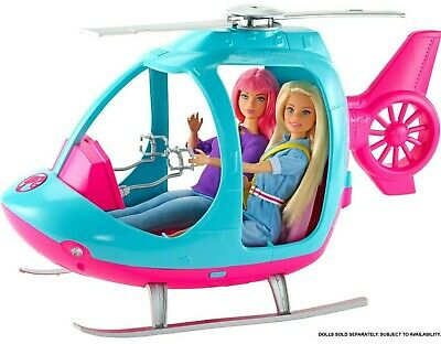 Barbie Doll and Daisy Travel Helicopter FWV26 DREAMHOUSE ADVENTURES FWV25
