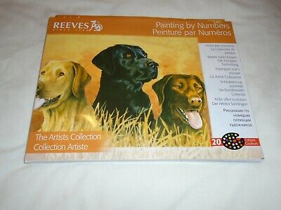 Painting By  Numbers  /Dogs  /New  Unused