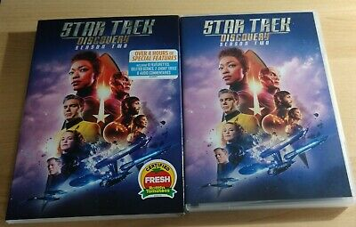 Star Trek Discovery Complete Second Season 2 (DVD,4-Disc Set) Free Shipping