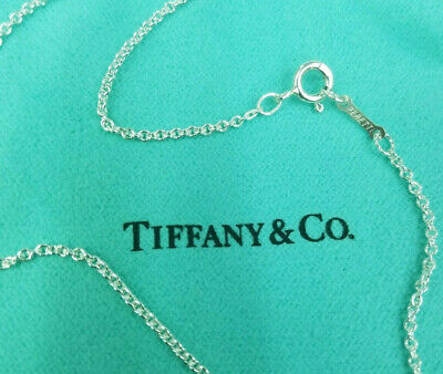 "Tiffany & Co. Sterling Silver Peretti chain 15"" Inches."