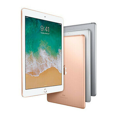 Apple iPad (6. Generation) Tablet 9,7 Zoll Spacegrau 32 128GB WiFi + LTE WOW