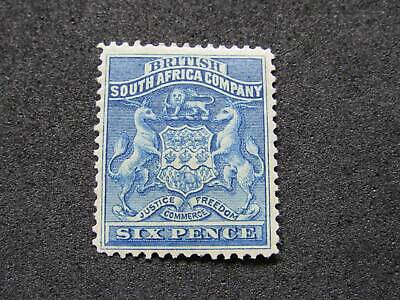 NobleSpirit No Reserve } Lovely RHODESIA No. 6 MH =$80 CV