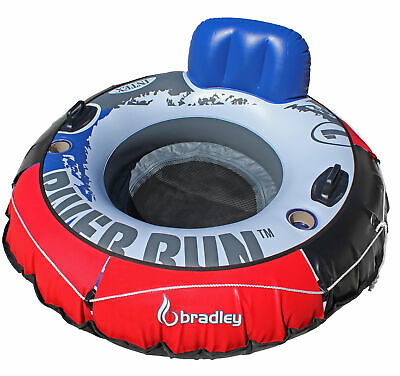 Heavy Duty River Run Tube with Cover | Floating Lounger | River Tube