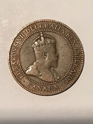 1905 Canada One 1 Cents Large Penny Circulated Canadian Coin