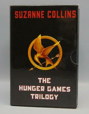 Book Lot of 3 Complete The Hunger Games Trilogy Boxed Set by Suzanne Collins