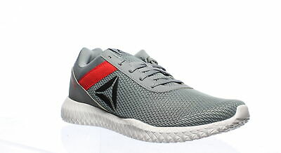 Reebok Mens Flexagon Energy Tr Grey/Red/Black Cross Training Shoes Size 11
