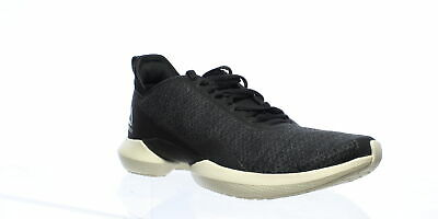 Reebok Womens Interrupted Sole Black Cross Training Shoes Size 10.5