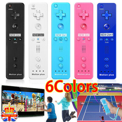 New For Nintendo Wii Wiimote Built in Motion Plus Inside Remote Controller UK