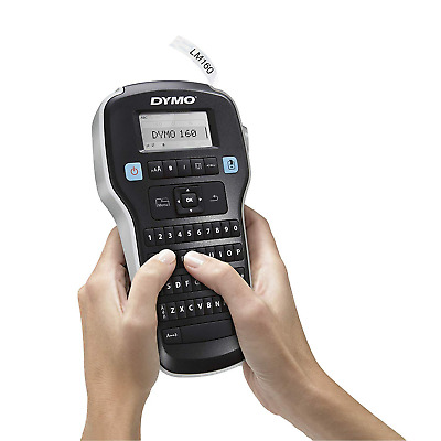 Dymo Label Manager 160 Handheld Printer Portable Maker Machine Qwerty Keyboard