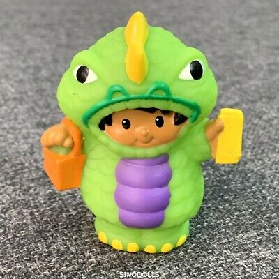 Fisher Price Little People with Dinosaur costume Figures Toy Doll