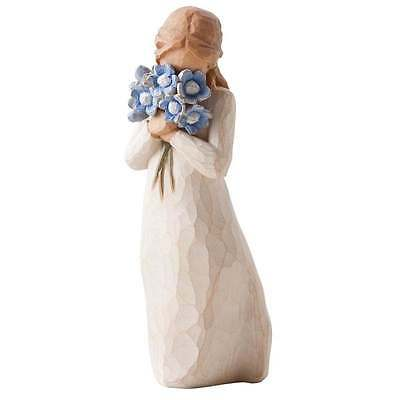 Willow Tree Forget-me-not Figurine 26454 Timeless Love Brand New in Box