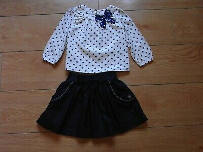 girls 2 piece outfit age 1.5years to 2 years from nutmeg