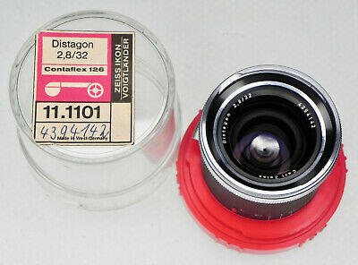 Carl Zeiss 32mm f2.8 Distagon for Contaflex 126  #4394142 ........ MINT