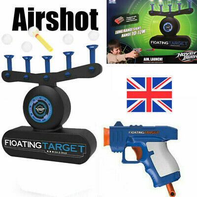Child Toys Shoot Game Electric Air Shot Hovering Ball Target Kid Boy Gifts Xmas