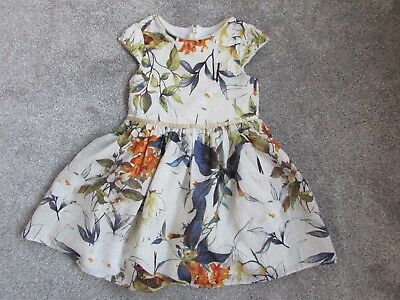 Beautiful Next girls 6 years birds & flowers prom holiday Summer Party dress