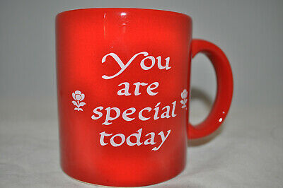 You Are Special Today Red Mug 12oz New Waechtersbach Germany