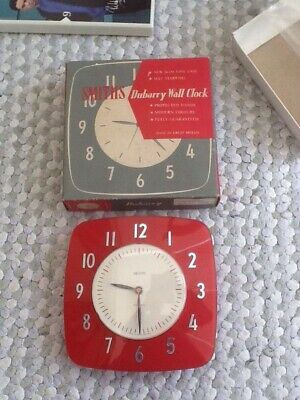 Original/Boxed Vintage Smiths Dubarry Wall Clock