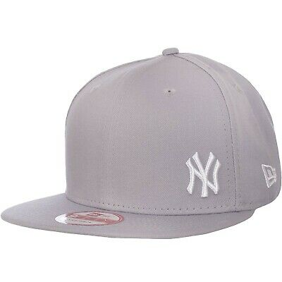New Era Mens 9FIFTY MLB NY Yankees Flawless Basic Snapback Baseball Cap - Grey