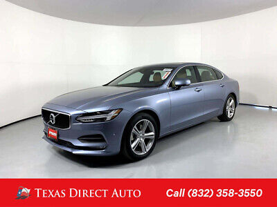 2018 Volvo S90 Momentum Texas Direct Auto 2018 Momentum Used Turbo 2L I4 16V Automatic AWD Sedan