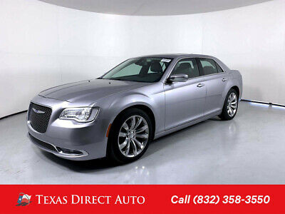 2018 Chrysler 300 Series Limited Texas Direct Auto 2018 Limited Used 3.6L V6 24V Automatic RWD Sedan