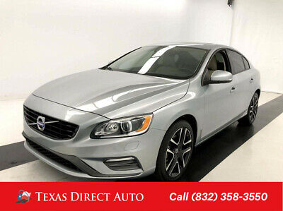 2018 Volvo S60 Dynamic Texas Direct Auto 2018 Dynamic Used Turbo 2L I4 16V Automatic FWD Sedan