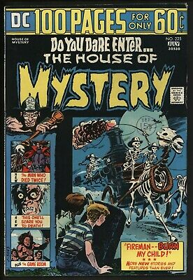 House of Mystery 225 DC Comics Hundred Pages Jack Kirby Bernie Wrightson art