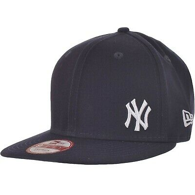 New Era Mens 9FIFTY MLB NY Yankees Flawless Basic Snapback Baseball Cap - Navy