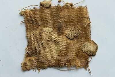 ANCIENT EGYPTIAN MUMMY TEXTILE SECTION 30th DYNASTY c. 380 BC
