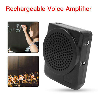 Voice Loudspeaker Amplifier Megaphone with Microphones for Teachers Tour Guide