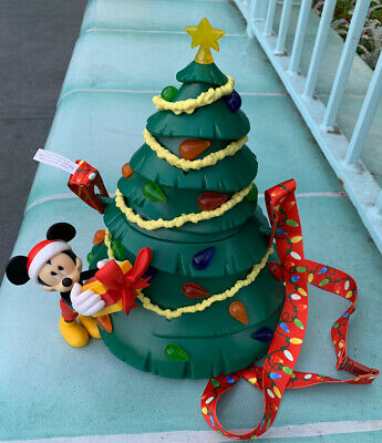 2019 Disneyland Parks Mickey Mouse Christmas Tree Popcorn Bucket Sold Out!