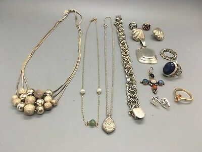 Another Lot of Sterling Silver Scrap (or not) Jewelry Over 100 Grams